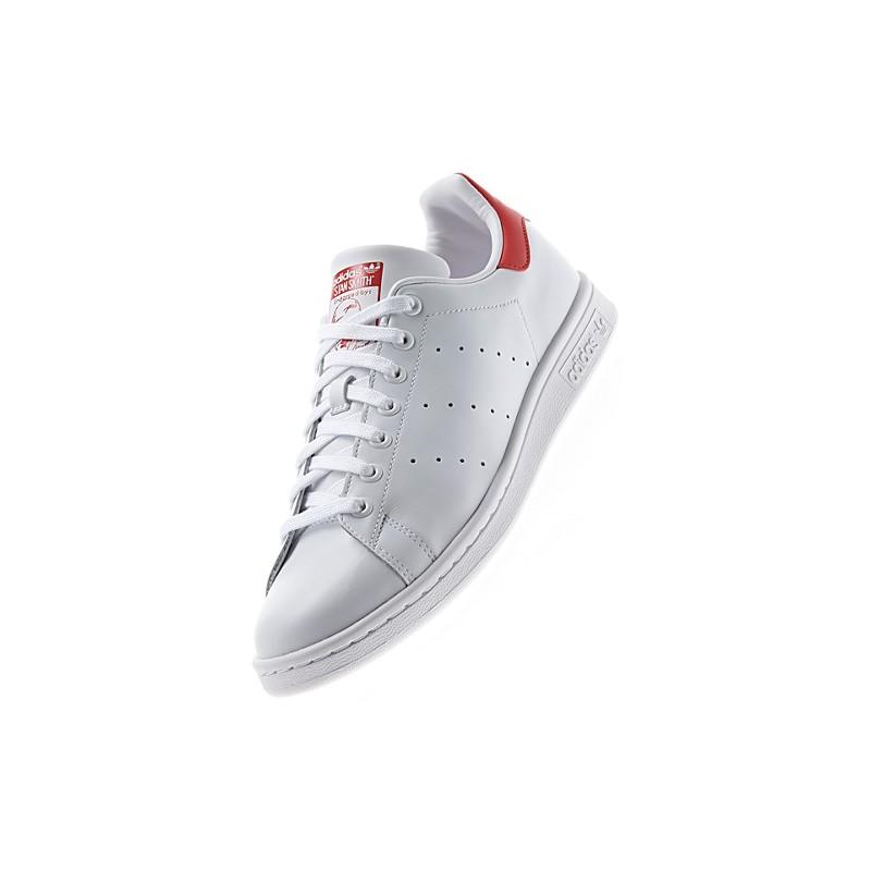 new styles 31adb b1d9c Adidas Smith Stan blancas y rojas con envío gratis - Selective Shop