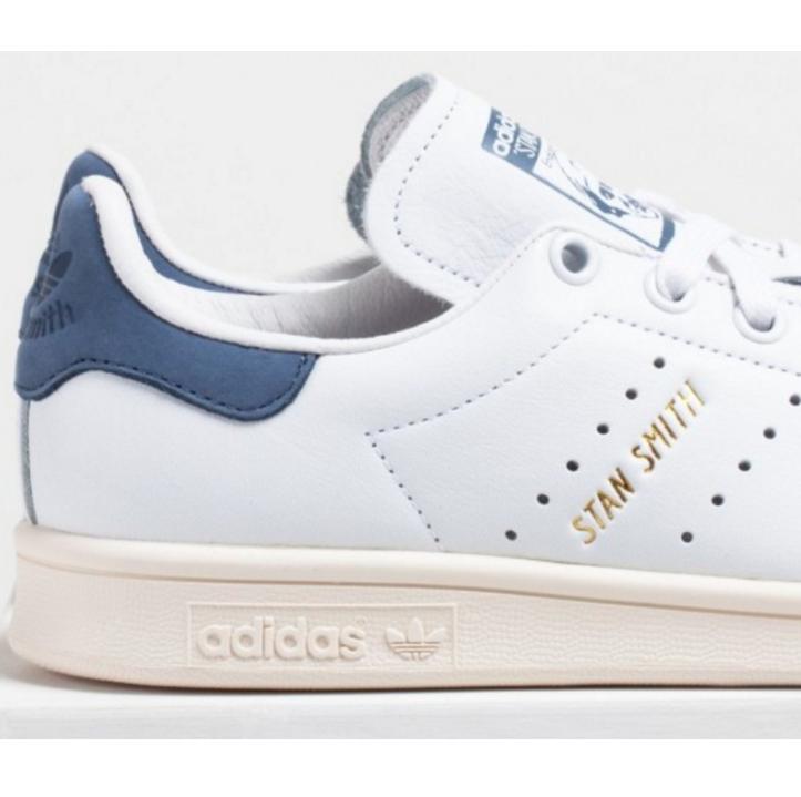 Porra Quinto lechuga  Adidas Stan Smith baratas azules terciopelo - Envío gratis - Selective Shop
