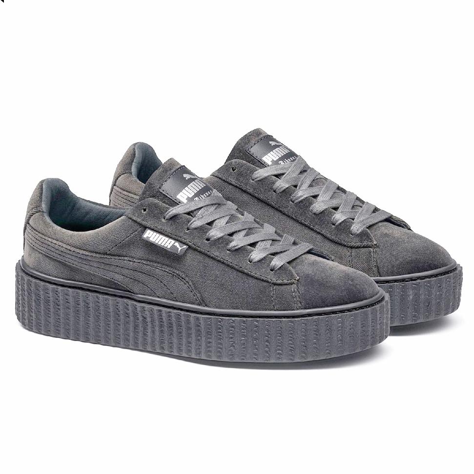 puma creepers gris