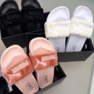 Puma Rihanna: The Fur Slide