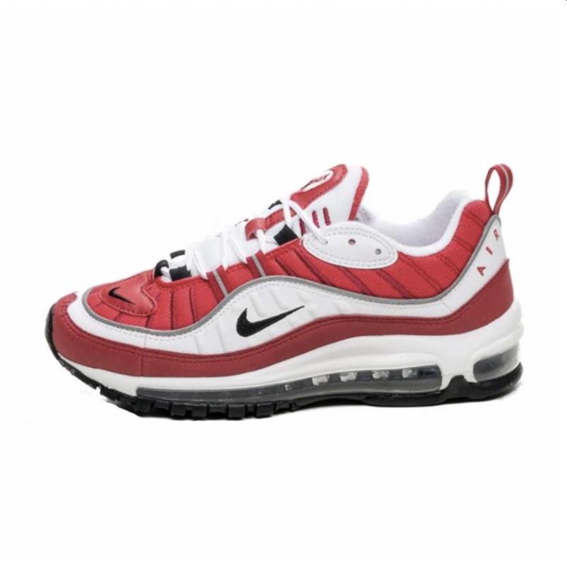 oyente Venta anticipada desinfectar  Nike Air Max 98 Blancas/Rojas con envío gratis - Selective Shop