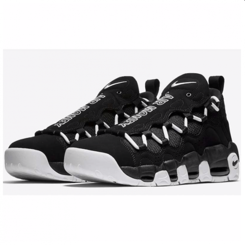 Diligencia Desenmarañar alfombra  Nike Air More Money Negras con envío gratis - Selective Shop